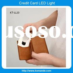 Bulb Shape Card LED Light