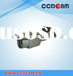 CCTV Fixed lens waterproof IR Camera for surveillance security system with cable inside bracket