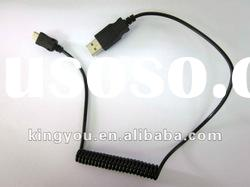 Charge cable ,usb to micro usb sprial charge cable