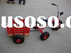 Children tricycle with trailer ,kid's bike toy F80AB