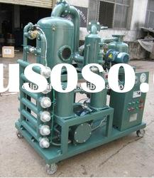 China Chongqing Zhongneng transformer oil purifier for old transformer oil purification