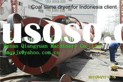 China Coal Slime Dryers with high efficiency best selling in Indonesia 0086-15137308741