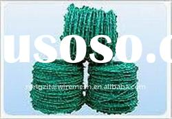 China Factory PVC Coated Barbed Iron Wire