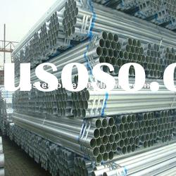 China Manufacturer ready made ASTM A53 Hot Dip Galvanized steel pipe