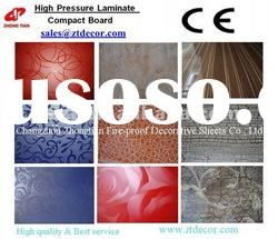 Compact HPL/High pressure laminates with Flower design