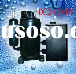 DC 48 brushless compressor for Automobiles Air Conditioning System
