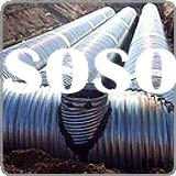 DIN Corrugated galvanized Steel Pipe