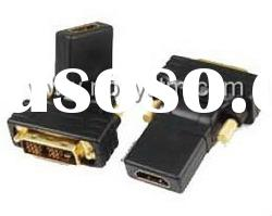 DVI (18+1) male to HDMI female adapter rotate 270 degree