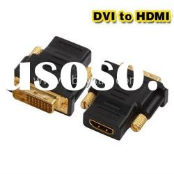 DVI (24+1) male to HDMI female adapter