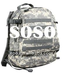 Deluxe Army's camouflage backpacks