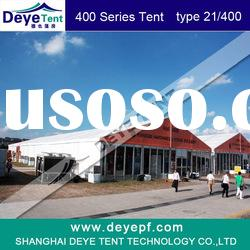 Deye 21/400 marquee tent,aluminum frame,glass wall