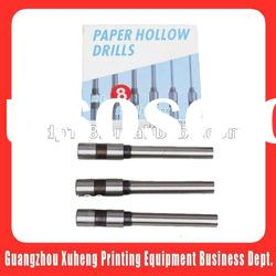 Different size hollow paper drills for heidelberg printing machine