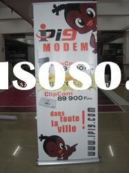 Double Sided Roll Up Banner Stand