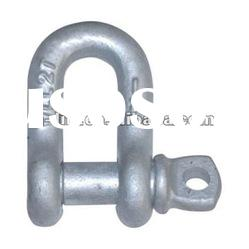 Drop Forged Screw Pin Chain Shackle U.S. Type G210