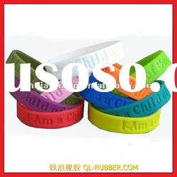 Fashion Silicone Rubber Bracelets