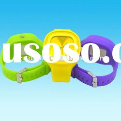 Fashion new silicone square silicone jelly watch waterproof silicone bracelet watch