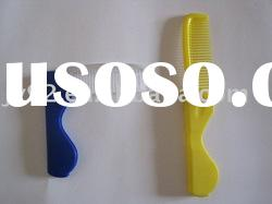 Folding comb/folded comb/foldable comb/disposable comb/plastic comb