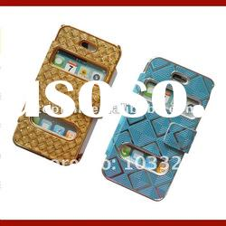 For Apple Flip case for iphone 4 4s leather case