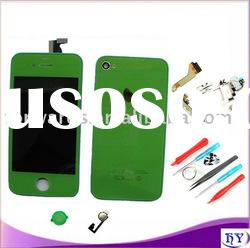 GREEN color great color repair kit for iphone 4 housing set kit