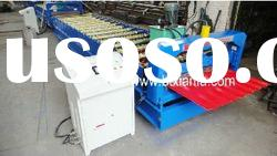 Galvanized Steel Roof Cladding Roll Forming Machine