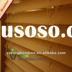 Good quality Indoor Horizontal Bamboo Window Venetian Blinds