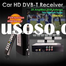 HDMI and IR output car dvb-t box mobile digital tv receiver