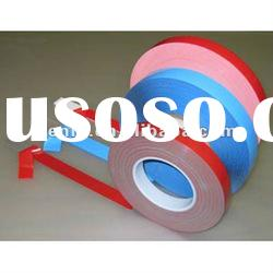 Heat resistant double sided acrylic tape