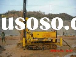 High-performance with air compressor water well drilling rigs(KW10-II)