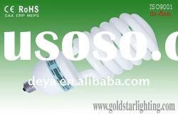 High power half spiral energy-saving lamp