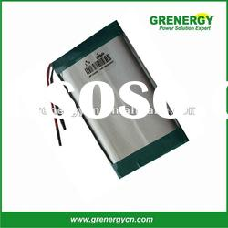 High quality customed 5440104 Lithium ion -polymer battery cell 3.7V 2400mah UL certificated