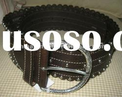 High quality genuine leather belts for women