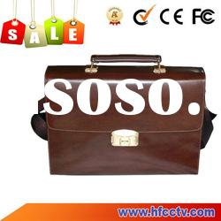 Hot Sale 2012 Unique Vintage Leather Men's Laptop Backpack Tote Bag Briefcase HF-FC01