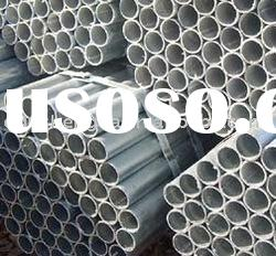 Hot dipped pre galvanized steel pipes