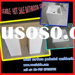 Hot sale! SIMBLE professional factory for modified artificial stone bathroom sink
