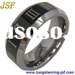 Hot sale new style laser tungsten wedding rings