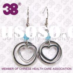Hot selling fashion jewelry of 316L stainless steel earring