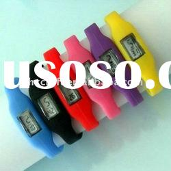 Hot selling silicon ion sport watch with high quality waterproof