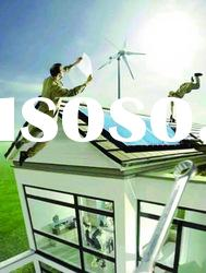 Hybrid Solar Wind Home Power System