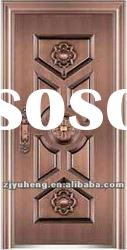 Imitate Copper Steel Security Doors