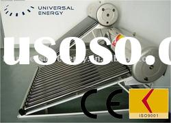 Incline roof type solar water heater with 165L/15 tubes without Heat-Exchanger