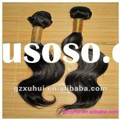 Indian human hair wave weft,human hair extension,body wave hair weft.
