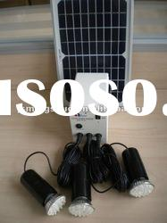 Indoor Solar Energy system 5W Lighting Kit HRE27