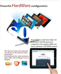 Intel Atom N455 1.66GHz 2G/64G SSD 3G Tablet PC Phone Wifi Google Android Tablet with Keyboard