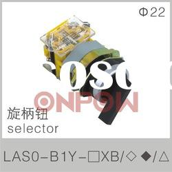 LAS0-B1Y-11XB selector switch(electrical push button switch,selector push button switch)