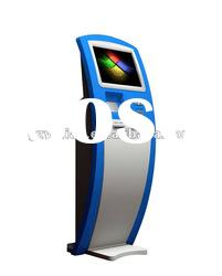 LCD Touch Screen Information Kiosk/self-service kiosk with scanner