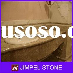 Light Emperador Marble Bathroom Vanity Tops