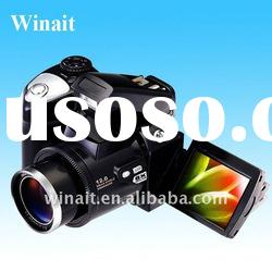 "MAX.12MP 5-in-1 Multi Function digital camera with 2.4"" LTPS LCD"