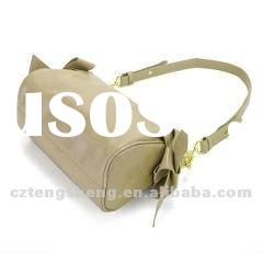 MOQ1-2012 ladies' leather fashion handbags,brand design NO.1516