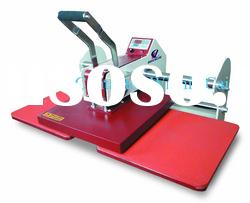 Manual double stations heat press machine