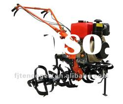 Mini 10hp diesel powered agricultural farm machinery rotary tiller